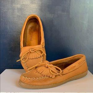 Minnetonka moccasins soft leather